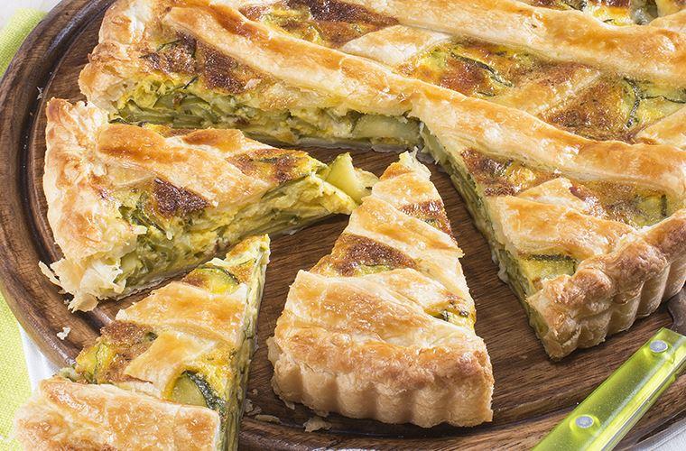 Torta con zucchine ricetta