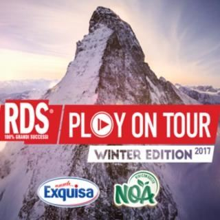 Degustazioni, neve e musica: Exquisa ti accompagna all'RDS Play On Tour Winter Edition