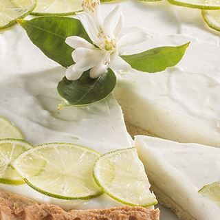Crostata al lime